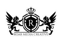 black logo roar